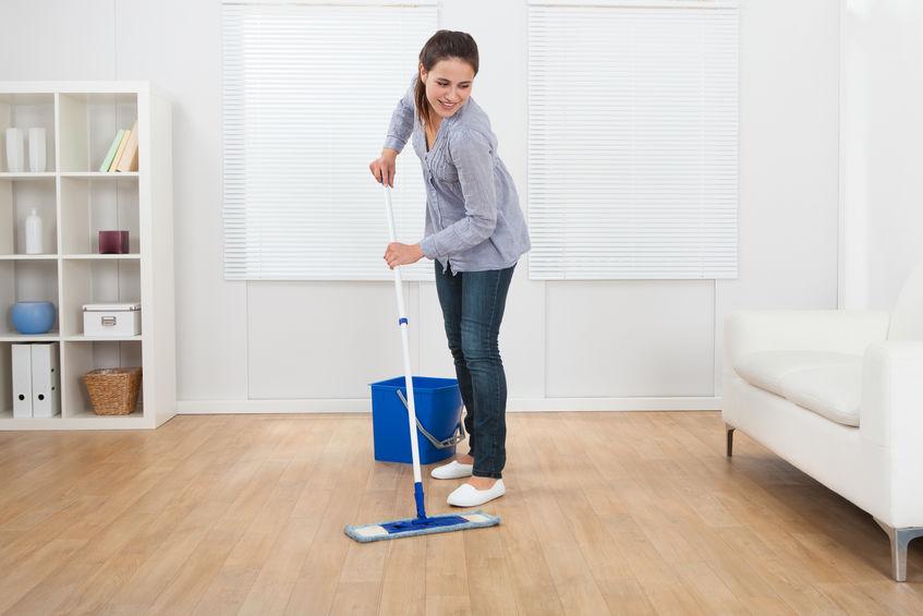tips to clean hardwood floors